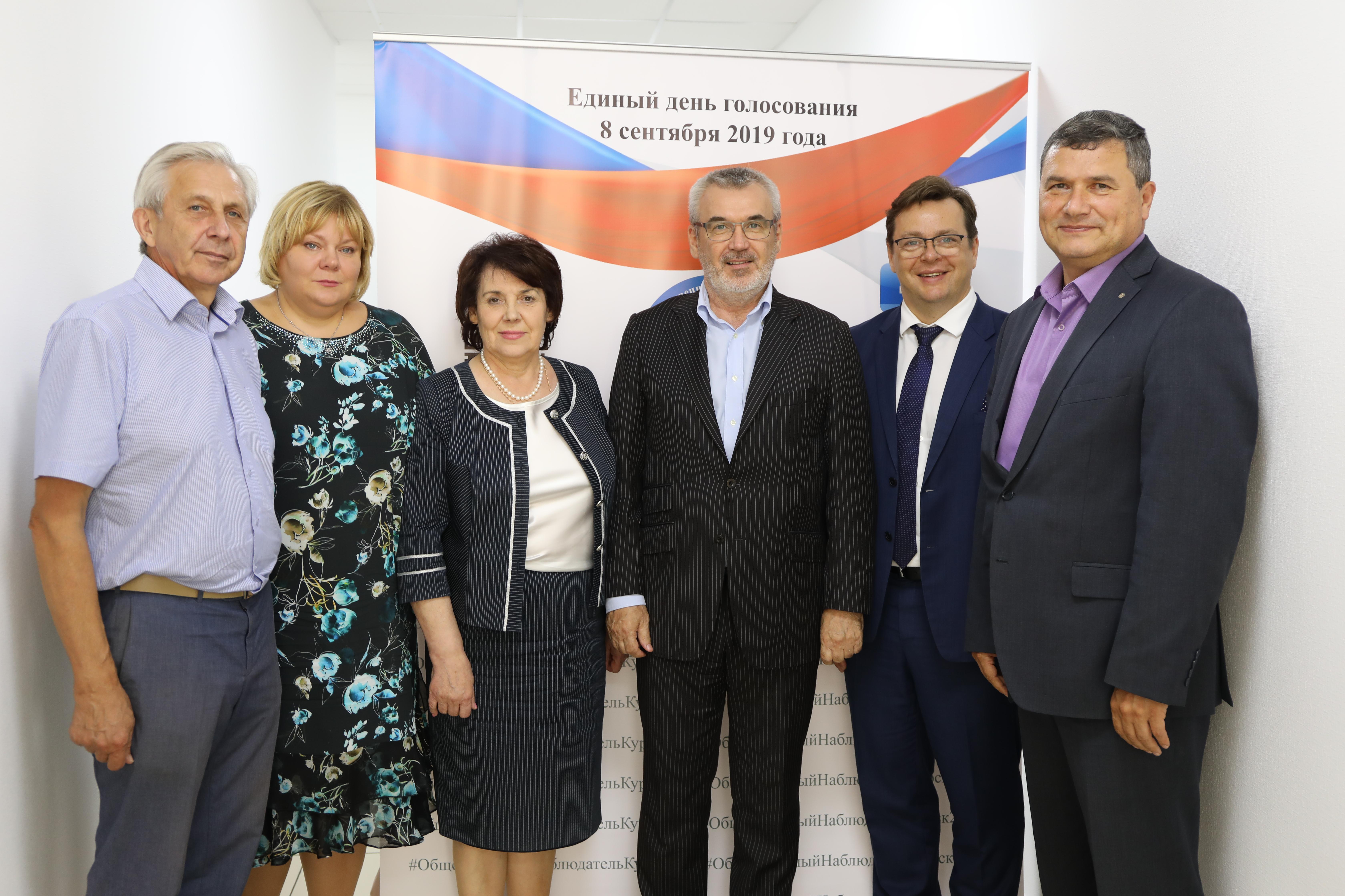 Член ЦИК РФ Александр Клюкин